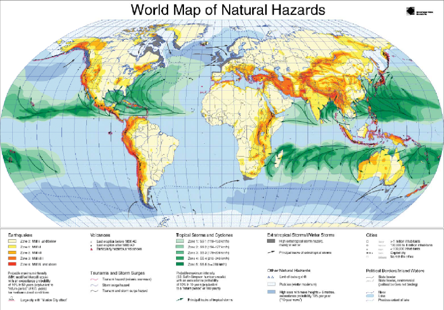 hazard and natural disaster The section on natural hazards fosters a focus within agu on studies of geophysical hazards, including droughts, earthquakes, fires, flooding, heat waves,.